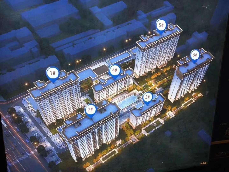 涿州紫樾华庭一期楼盘规划效果图